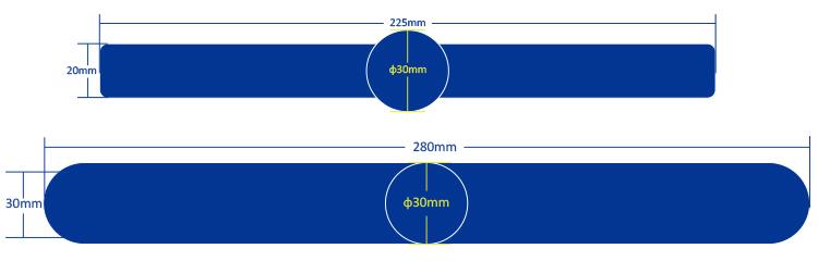 Medidas de pulseras RFID