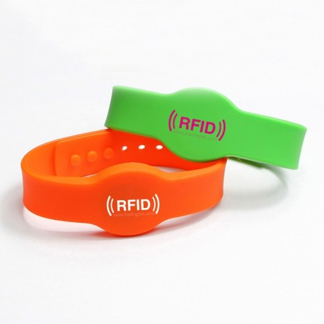 Pulsera de plástico RFID