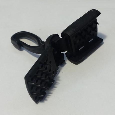 Mosquetón de plástico Clic-Clac
